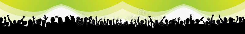 La gente del partito illustrazione vettoriale