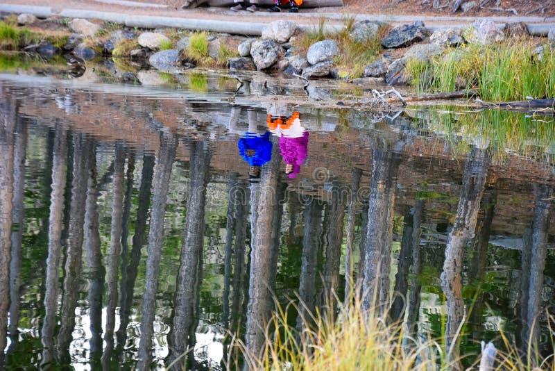 La gente dell'acqua fotografie stock