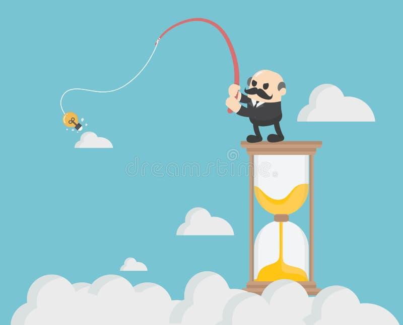 La gente di affari di concetto dell'illustrazione di affari sta cercando l'identificazione illustrazione di stock