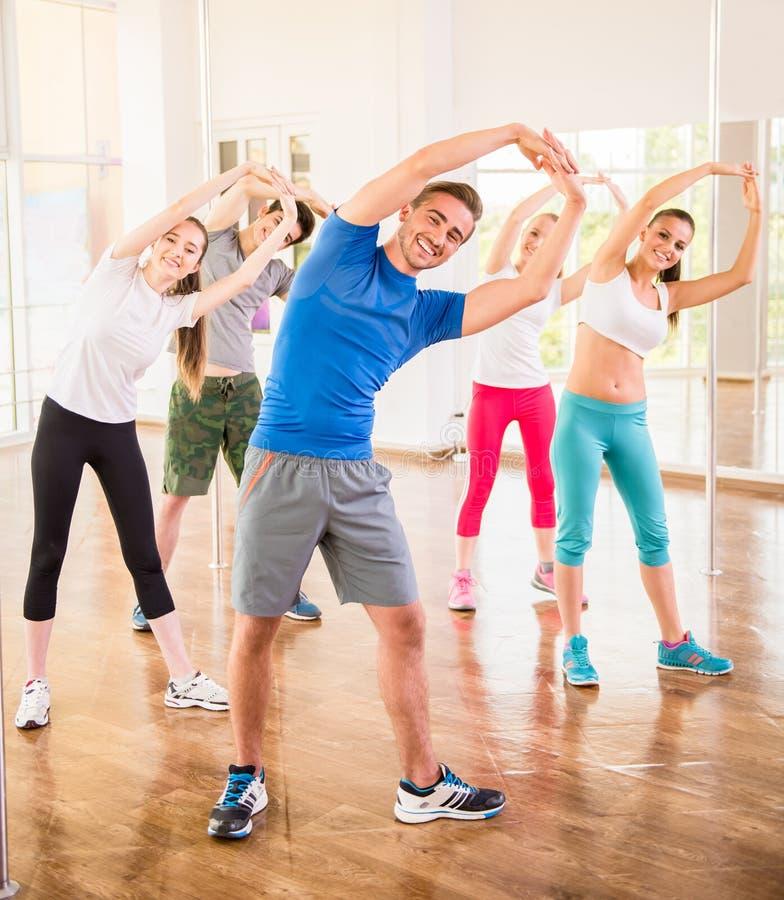 La gente di Dancing fotografie stock libere da diritti
