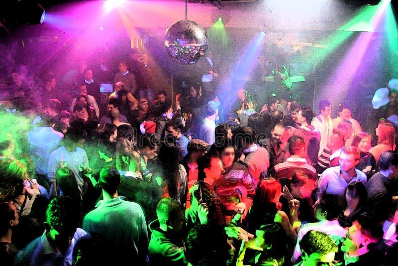 La gente di dancing della discoteca fotografia stock - Discoteca in casa ...
