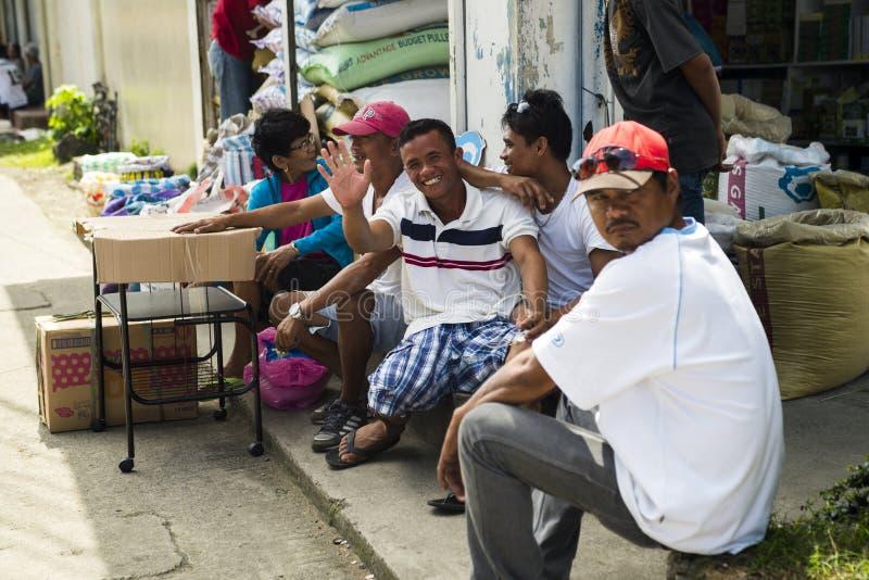 La gente di Kalibo immagini stock libere da diritti