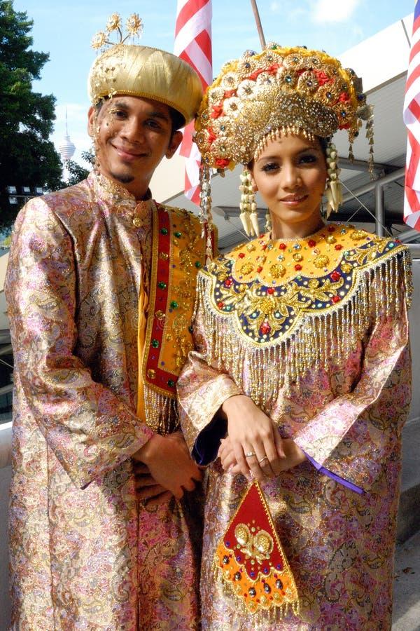 La gente di Minangkabau fotografie stock libere da diritti