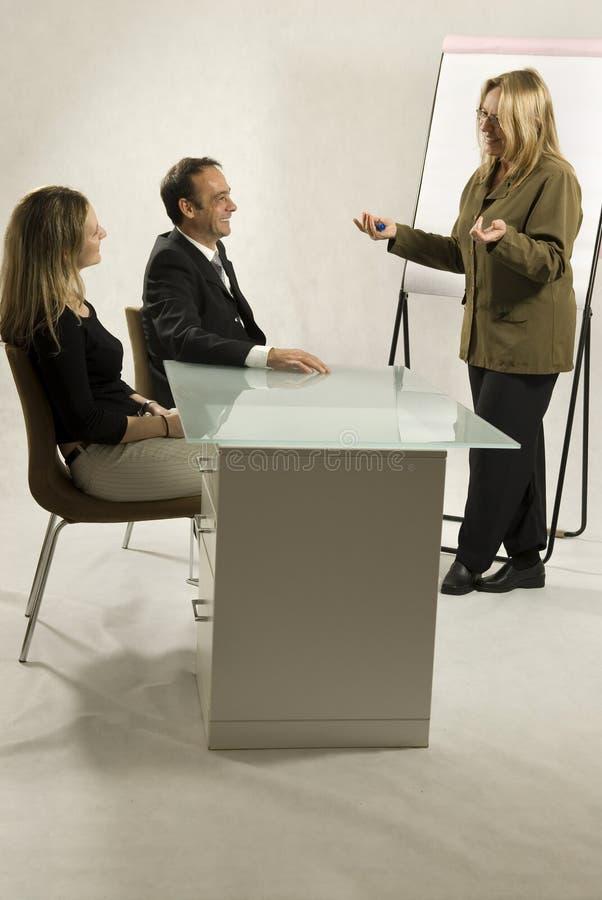 la gente di riunione d'affari immagini stock libere da diritti