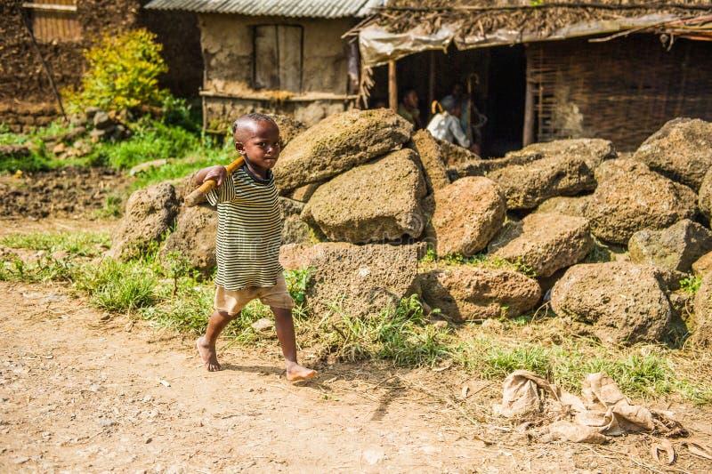 La gente in Etiopia fotografie stock libere da diritti