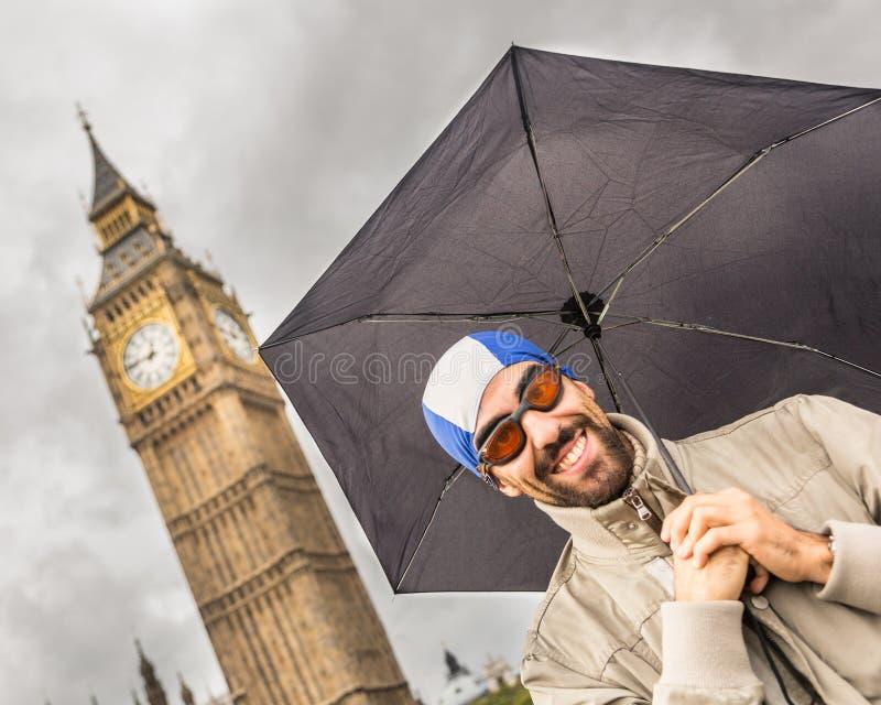 La gente a Londra fotografia stock