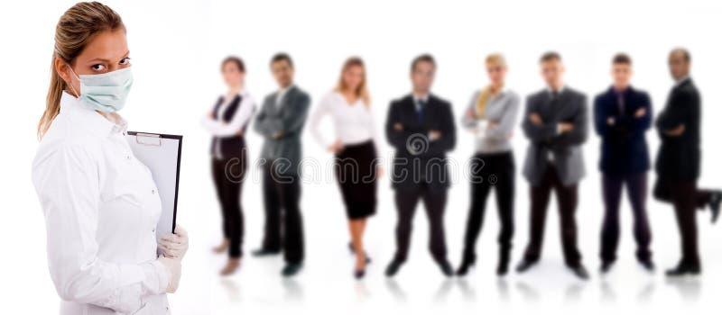 La gente - mano d'opera illustrazione di stock