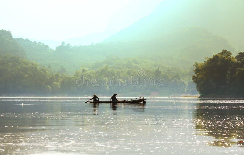 La gente nel Laos fotografia stock libera da diritti