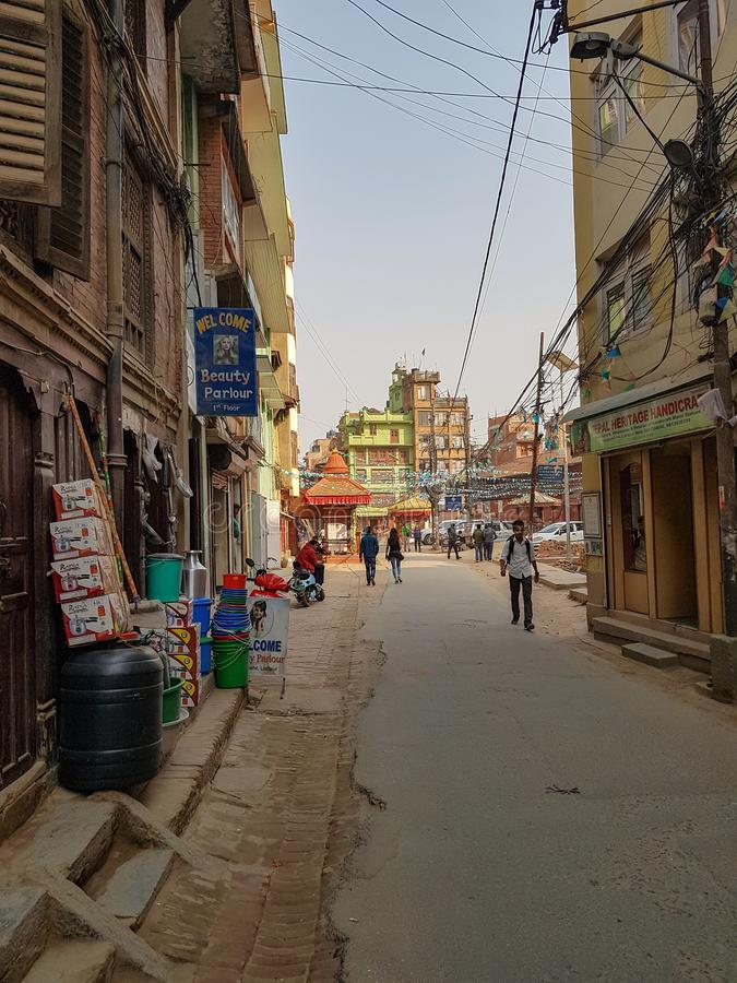 La gente nel Nepal immagine stock libera da diritti