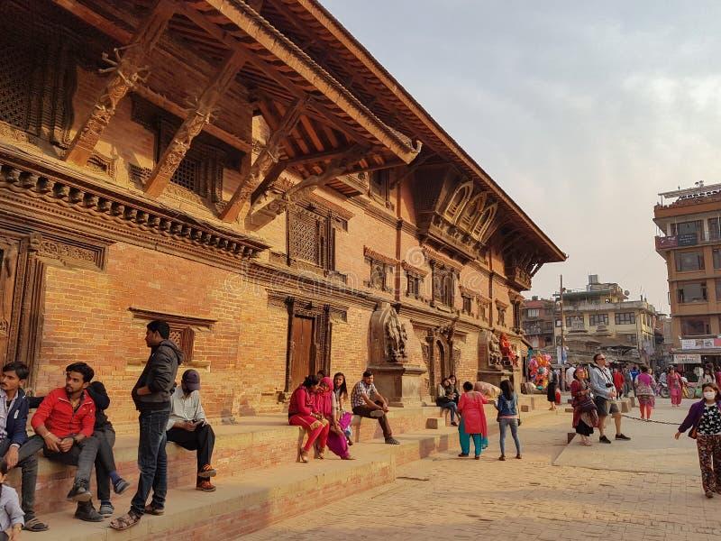 La gente nel Nepal immagini stock libere da diritti