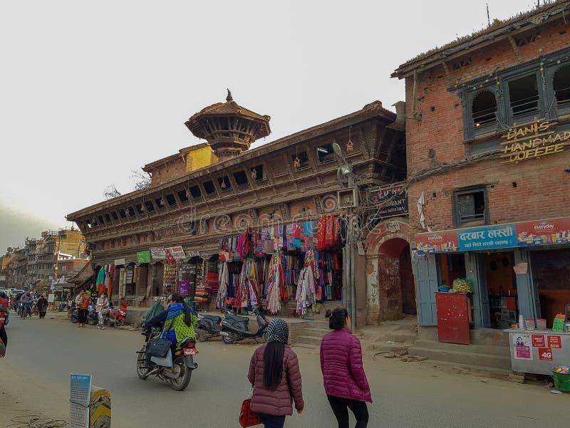 La gente nel Nepal fotografia stock libera da diritti