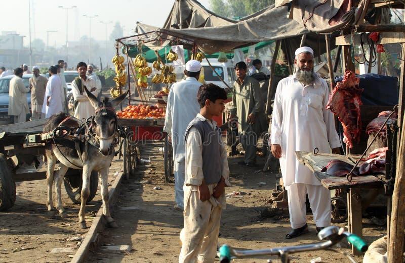 La gente nel Pakistan fotografia stock