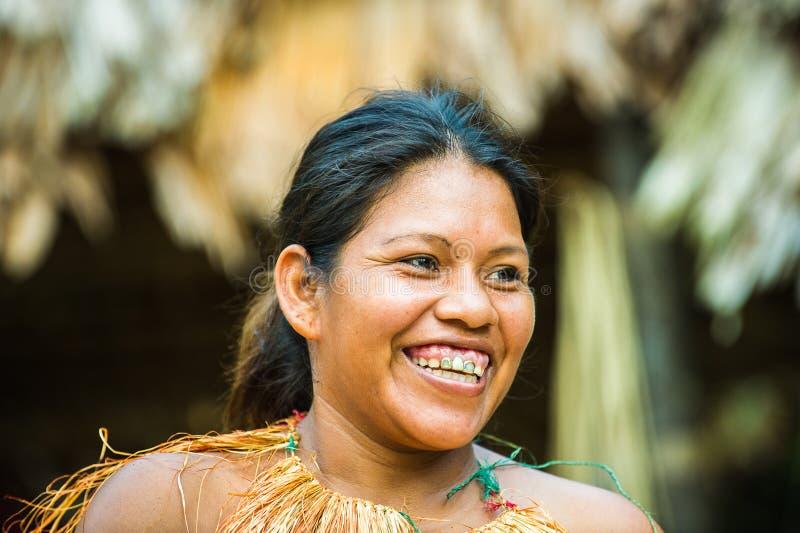 La gente nel Perù fotografia stock