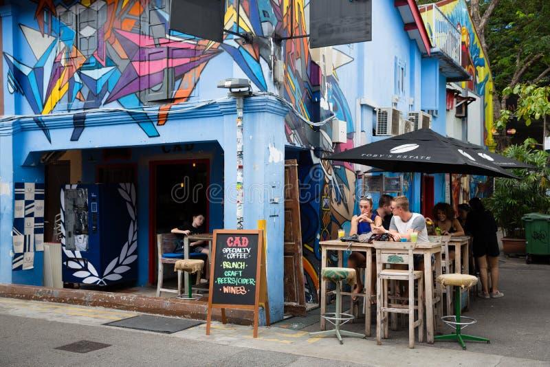 Download La Gente Nel Quarto Arabo A Singapore Immagine Stock Editoriale - Immagine di arabo, colourful: 56891199