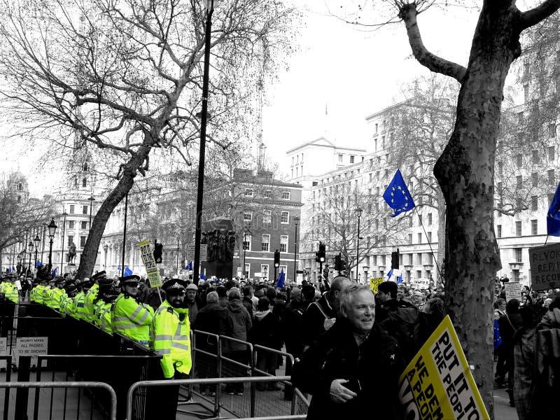 La gente voto 23 marzo marzo 2019 immagini stock libere da diritti