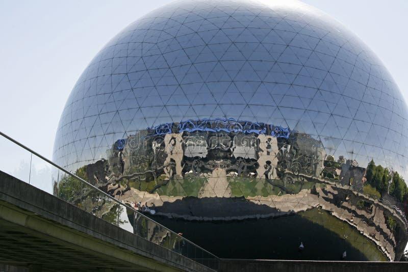 La Geode - La Villette, immagine stock libera da diritti