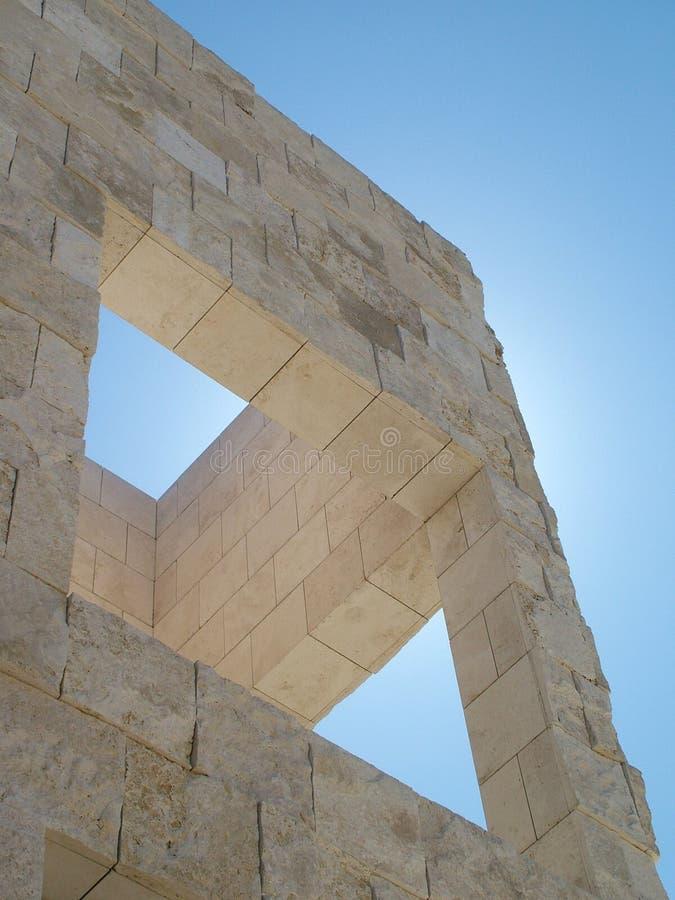 La geometria architettonica immagini stock