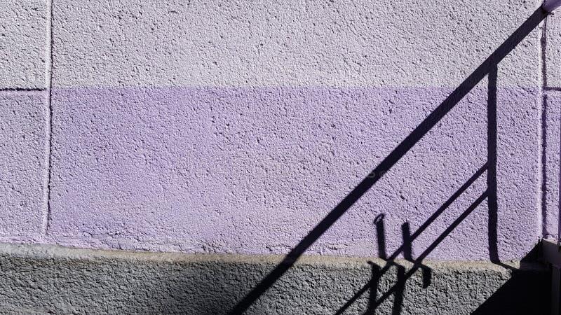 La geometria della linea retta ombre immagini stock