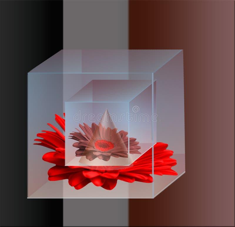 La geometria di colore fotografia stock libera da diritti