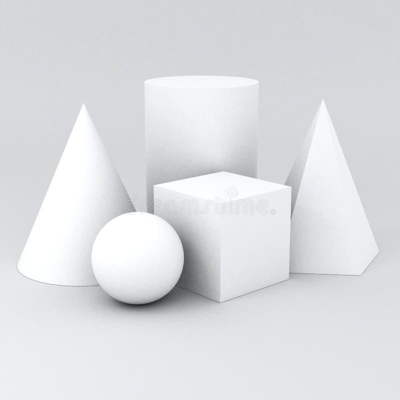 La geometria di forma fotografia stock
