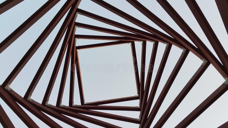 La geometria nel cielo immagine stock libera da diritti