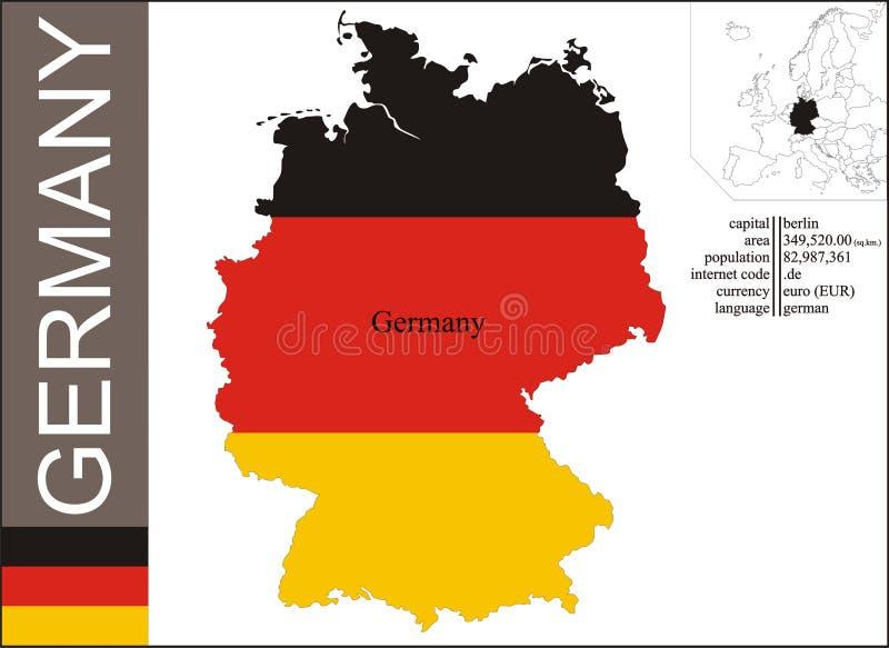 La Germania illustrazione vettoriale