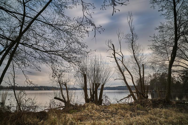 La Germania - Berlin&Brandenburg - Havel immagini stock