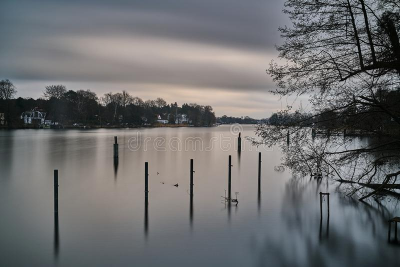 La Germania - Berlino - Havel fotografia stock