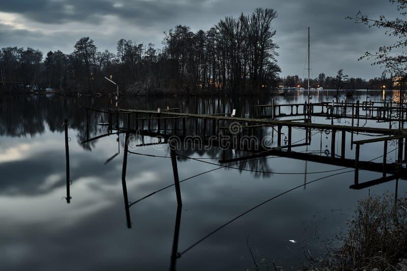 La Germania - Berlino - Havel immagini stock libere da diritti