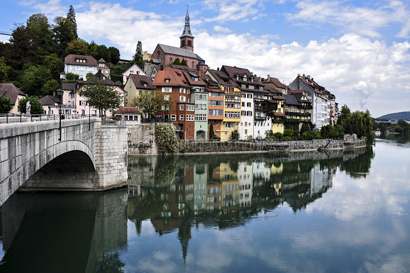 La Germania, Laufenburg immagini stock libere da diritti