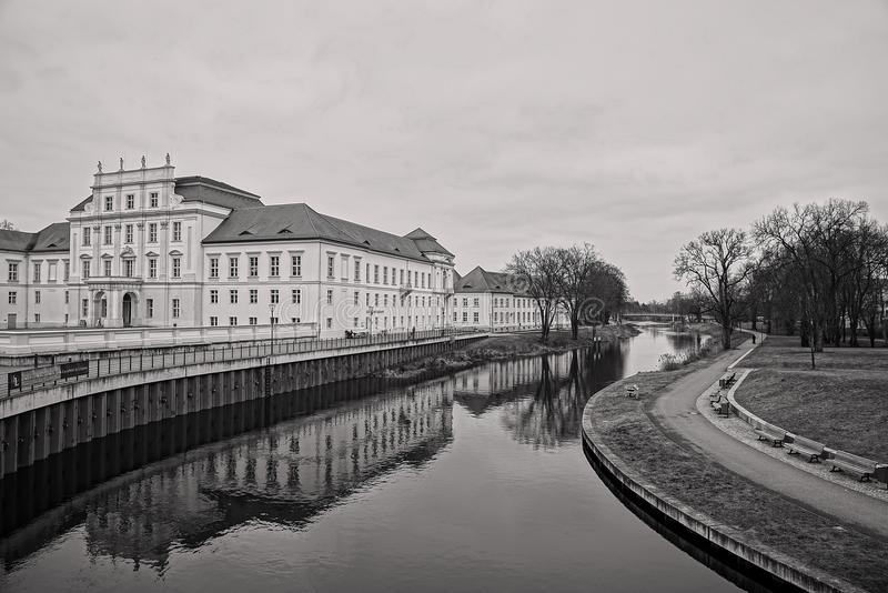 La Germania - Oranienburg - Havel immagini stock libere da diritti
