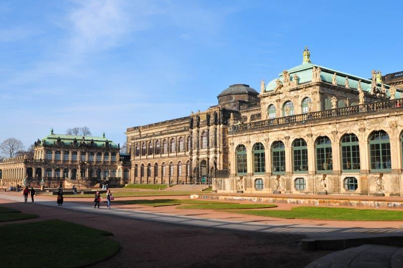 La Germania orientale: Dresdens Late-Barock Château fotografia stock