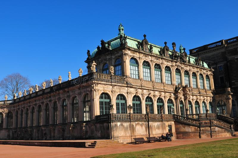 La Germania orientale: Dresdens Late-Barock Château immagini stock