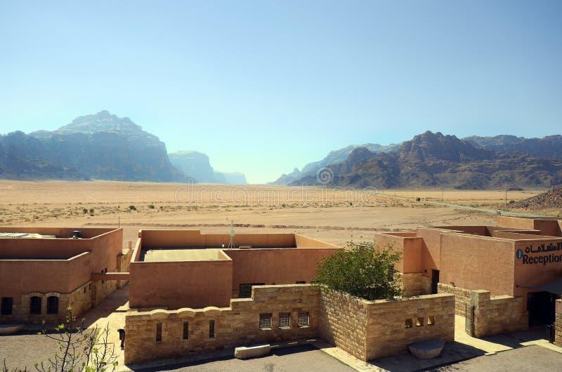 La Giordania, Wadi Rum fotografia stock libera da diritti