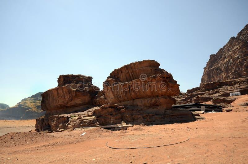 La Giordania, Wadi Rum immagine stock libera da diritti