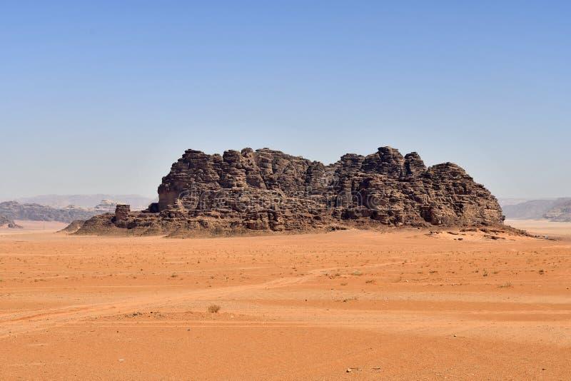 La Giordania, Wadi Rum fotografie stock libere da diritti