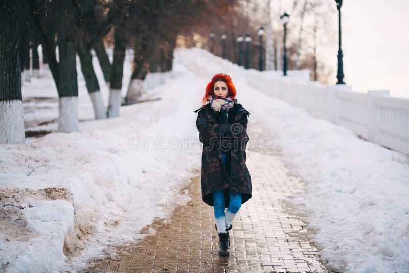 La giovane donna fotografia stock libera da diritti