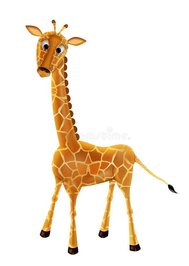 La giraffe illustration stock