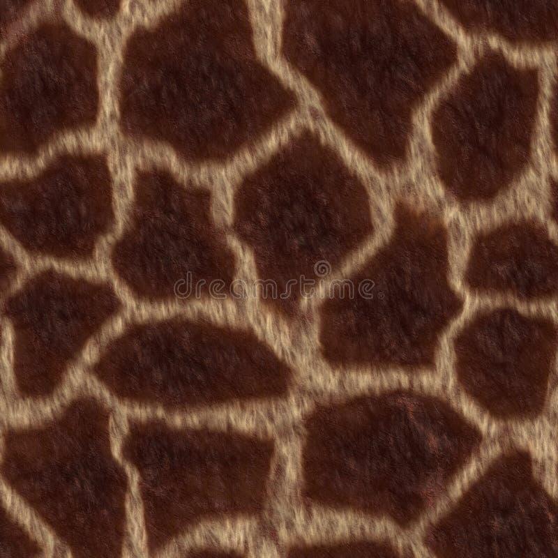 La giraffe est tombée illustration libre de droits