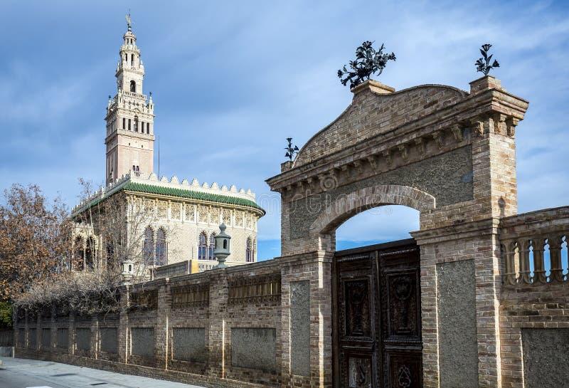 La Giralda en la provincia de Arboc de Tarragona fotos de archivo libres de regalías