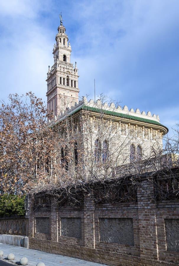 La Giralda en la provincia de Arboc de Tarragona fotos de archivo