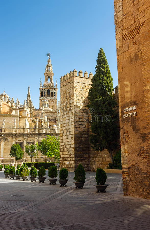 La Giralda, Sevilla royalty-vrije stock fotografie