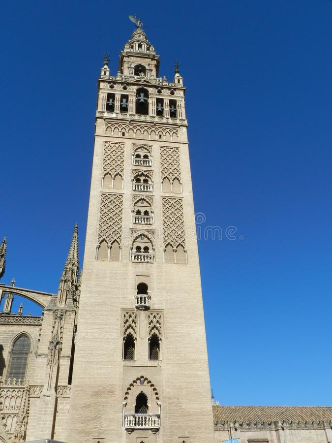 La Giralda, Sevilla spanje royalty-vrije stock foto's