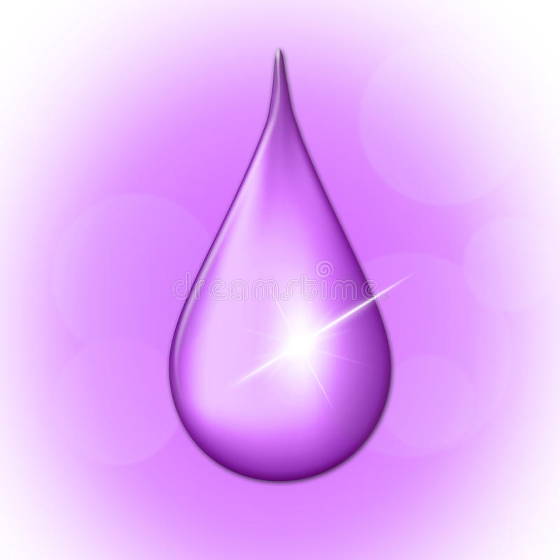 La goccia di pioggia mostra la goccia di pioggia bagnata e l'acqua royalty illustrazione gratis
