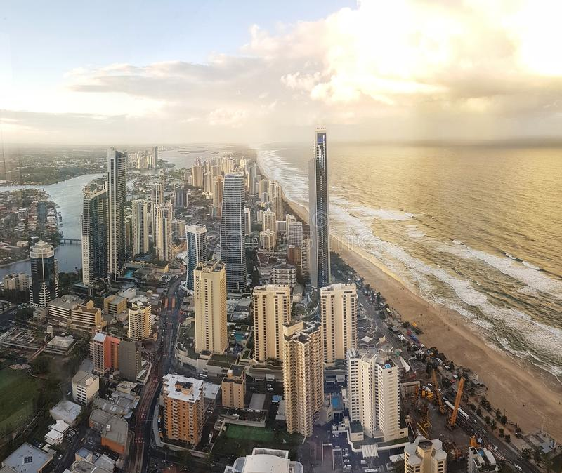 La Gold Coast photographie stock