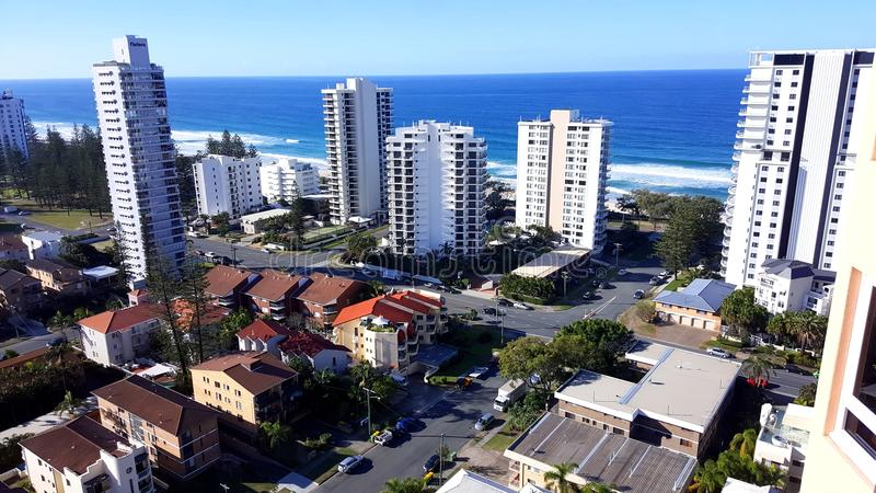 La Gold Coast fotografia stock
