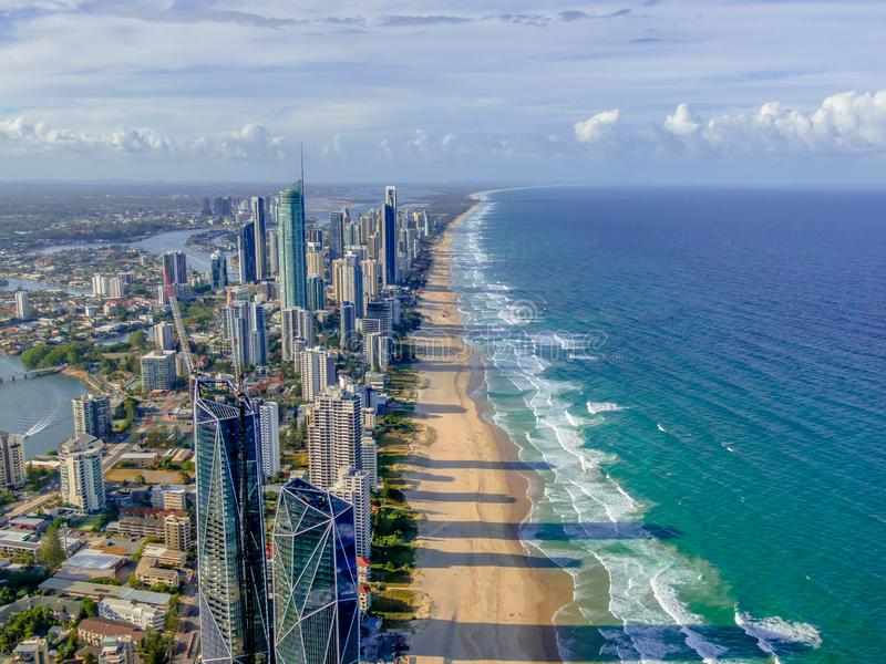 La Gold Coast fotografie stock libere da diritti