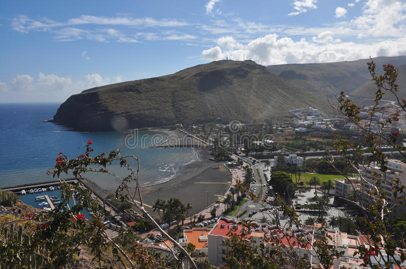 La gomera royalty free stock photography