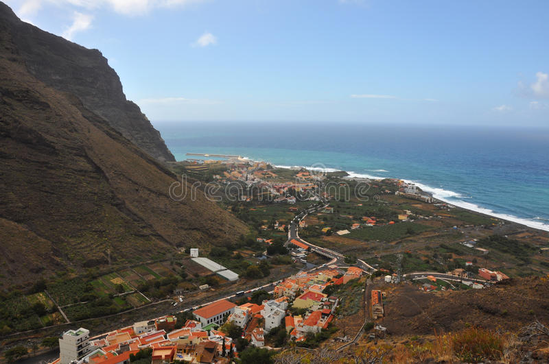 La gomera stock photo