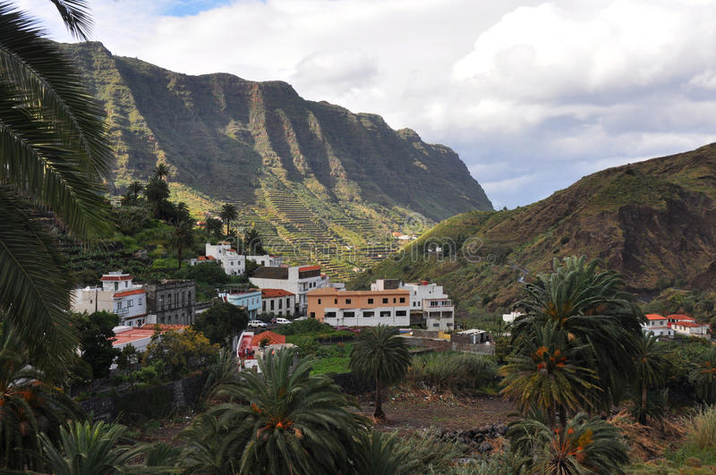 La gomera stock photography